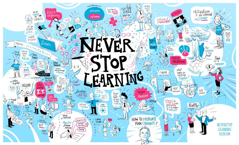 #NeverStopLearning by @DavidJesus