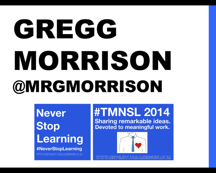 #TMNSL - 5 minute mirco presentation