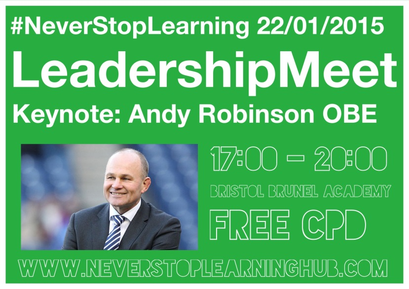 Keynote: Andy Robinson OBE